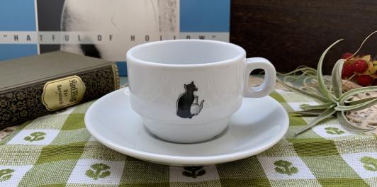 ヴィンテージアンティークコーヒーカップ